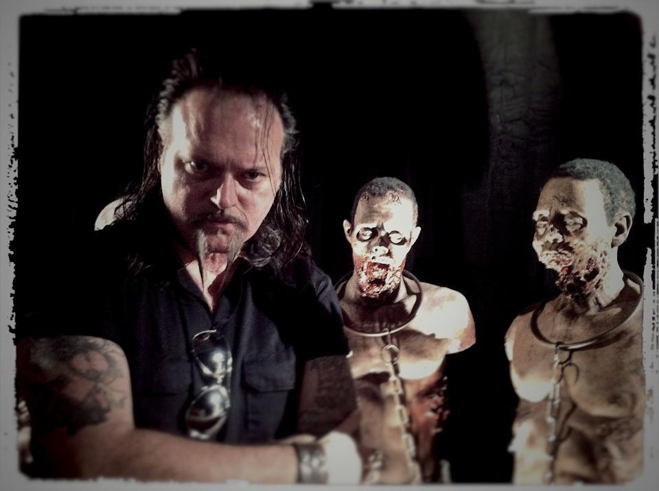 Robert Sexton w The Walkers The Walking Dead
